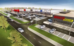Saller Group retail park in Sulechów started