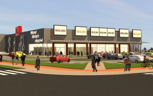 Saller Group is developing a retail park in Pruszcz Gdański